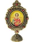 Икона Святой вмч. и целитель Пантелеимон, на подставке
