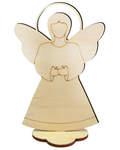 Сувенир пасхальный на подставке «Ангел», для раскрашивания