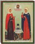 Икона Марфа и Мария свв.мцц., аналойная малая