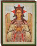 Икона Спас Благое Молчание Ангел, аналойная малая