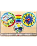 Календарь Природы + Часы. Планшет