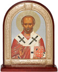 Икона Святитель Николай Чудотворец, на подставке