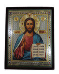 Икона Господь Вседержитель, в бархатном футляре
