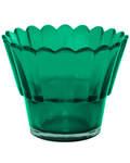 Лампада рифленая, зеленая