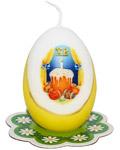 Свеча- яйцо