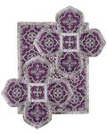 Воздух и покровцы, парча, фиолетовый с серебром