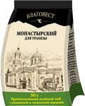 """Чай """"Монастырский"""" для трапезы. Крупнолистовой зеленый чай с ромашкой и лимонной травой, 50г. Сорт Высший. Срок годности 24 месяца"""