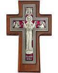 Крест гальванический настенный