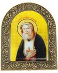 Икона на подставке Святой прп. Серафим Саровский