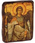 Икона под старину Архангел Михаил