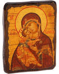 Икона под старину Пресвятая Богородица