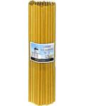 Свечи церковные воскосодержащие (50% воска) №10, 2кг (70шт в пачке, размер свечи 360 х 10мм)