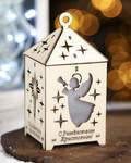 Рождественский настольный фонарик