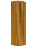 Свечи церковные восковые (100% воск) №40, 1кг (100шт в пачке, размер свечи 7*255мм)