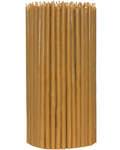 Свечи церковные восковые (100% воск) №80, 1кг (200шт в пачке, размер свечи 6*180мм)