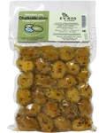 Оливки Халкидики (зеленые) XL с косточкой (вакуумная упаковака, 250г)