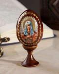 Яйцо сувенирное Пресвятая Богородица
