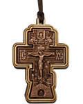 Крест автомобильный, дерево/пластик