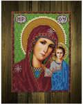 Набор со стразами на доске Пресвятая Богородица