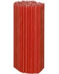 Свечи церковные красные (50% воска) №40, 2кг (200шт в пачке, размер свечи 265 х 8мм)