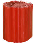 Свечи церковные красные (50% воска) №100, 2кг (500шт в пачке, размер свечи 165 х 5мм)