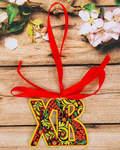 Пасхальный сувенир на ленте