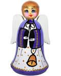Ангел деревянный, два в одном