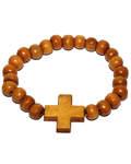Четки деревянные с крестом