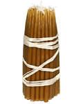 Свечи восковые конусные №1 (50шт, длина 150мм, толщина основания 6мм)