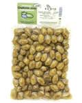 Оливки Халкидики (зеленые) L с косточкой (вакуумная упаковака, 500г)