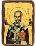 Икона под старину Святитель Николай Чудотворец
