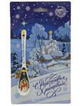 Ложка сувенирная Ангел - С Рождеством Христовым