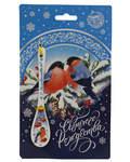 Ложка сувенирная Снегирь - Светлого Рождества