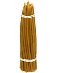 Свечи восковые конусные №20 (50шт, длина 200мм, толщина основания 5мм)