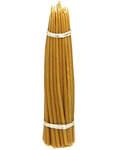 Свечи восковые конусные №22 (50шт, длина 220мм, толщина основания 7мм)