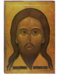 Икона Спас Нерукотворный (Мокрая Брада). Полиграфия, дерево, лак