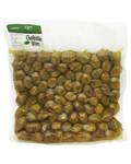 Оливки Халкидики (зеленые) XL с косточкой (вакуумная упаковака, 1кг)