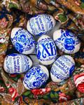 Пасхальный набор термоэтикеток для украшения яиц, 7шт