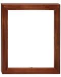 Рамка деревянная со стеклом (для иконы 13*16*0,3см)