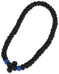 Четки сутажные 50 узелков (из шелкового шнура), черные