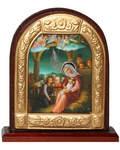 Икона Рождество Христово на подставке