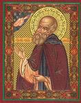 Икона Преподобный Илия Муромец