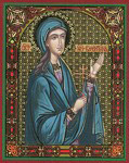 Икона Святая мученица Валентина Палестинская