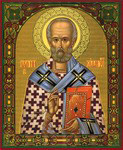 Икона Святитель Николай Архиепископ Мирликийских Чудотворец