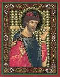 Икона Святой мученик благоверный князь Борис