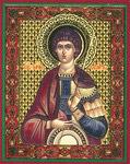 Икона Святой мученик Уар