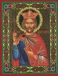Икона Святой Равноапостольный Император Константин Великий