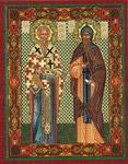 Икона Святые равноапостольные Кирилл и Мефодий Моравские