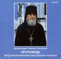 Диск (CD) Проповедь перед чином изгнания злых духов из человека. Архимандрит Герман (Чесноков)